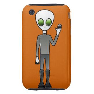 Alien Dude iPhone 3 Tough Cases