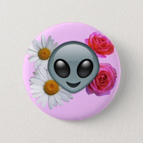 alien emoji button