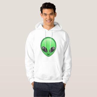 alien emoji mens hooded hoodie sweatshirt hoody