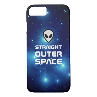 Alien Emoji with Outer Space Sci Fi Scene iPhone 8/7 Case