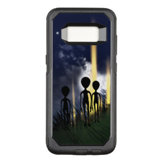 Alien Encounter OtterBox Commuter Samsung Galaxy S8 Case