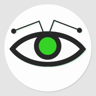 Alien Eye Sticker