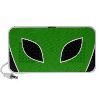 Alien Eyes iPhone Speakers