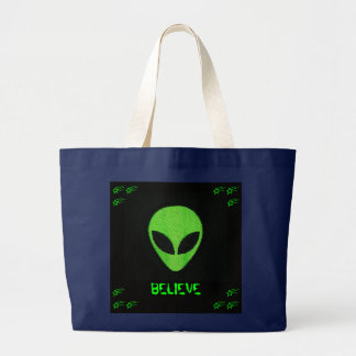 ALIEN FACE, BELIEVE BAG
