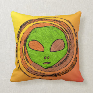 ALIEN FACE CUSHION
