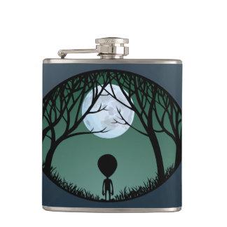 Alien Flask Alien Grey Drink Flasks Personalize