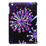 alien flowers black & purple glossy iPad minicase iPad Mini Case