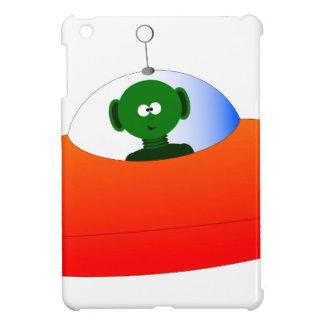 Alien Flying Saucer iPad Mini Cover