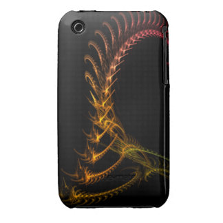 Alien Fractal iPhone 3 Cover
