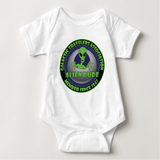 ALIEN GALAXY #1 BABY BODYSUIT