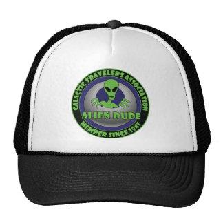 ALIEN GALAXY #1 TRUCKER HAT