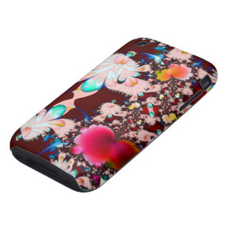 Alien Garden Fractal iPhone 3 Tough Covers
