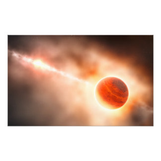 Alien Gas Giant Planet Space Art Photo Art