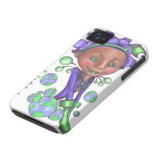 Alien Girl Case for the Blackberry Curve iPhone 4 Case-Mate Cases