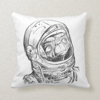 Alien go home pillow