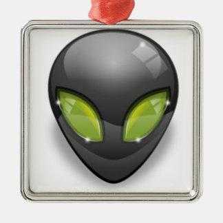 Alien Gray Design#2 Christmas Ornament