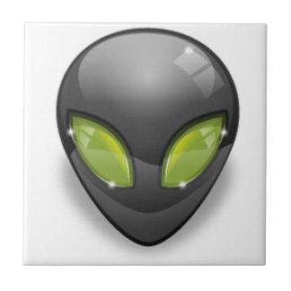 Alien Gray Design#2 Tile