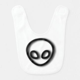Alien Gray Design Bib