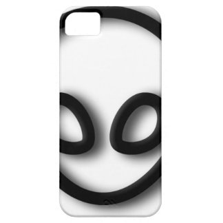 Alien Gray Design Case For The iPhone 5