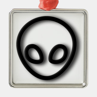 Alien Gray Design Christmas Ornament