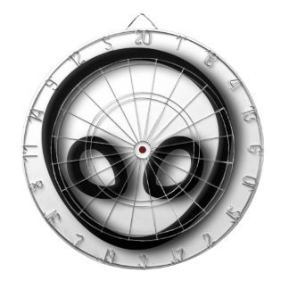 Alien Gray Design Dartboard