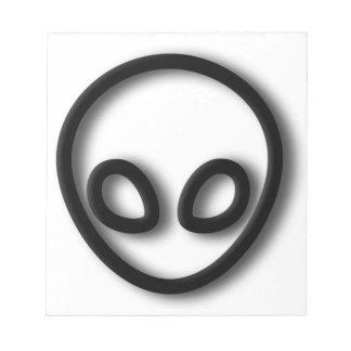 Alien Gray Design Notepad