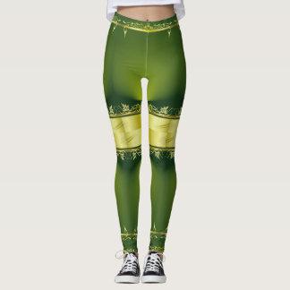 Alien green leggings