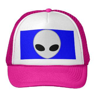 alien grey mesh hat