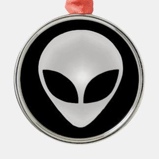 Alien Grey Head Christmas Ornament