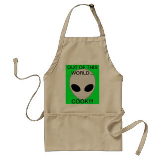 alien grey standard apron