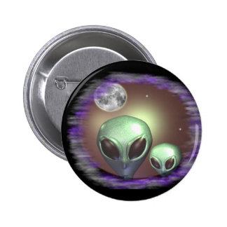 Alien greys items 6 cm round badge