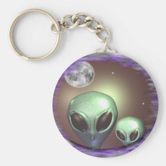 Alien Greys Items Key Ring