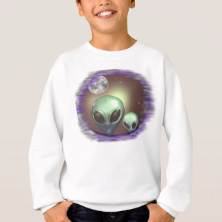 Alien Greys Items Sweatshirt