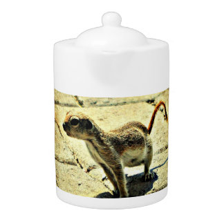 Alien Ground Squirrel Medium Tea Pot