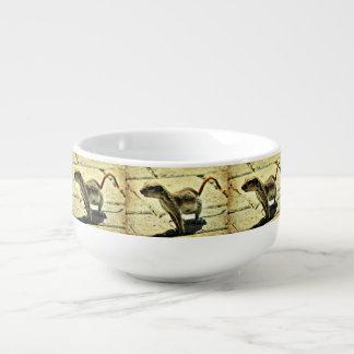 Alien Ground Squirrel  Soup Mug