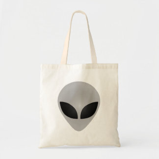 Alien Head Budget Tote Bag