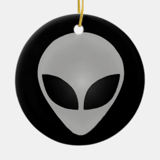 Alien Head Christmas Ornament