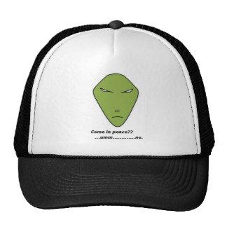 Alien Head Hat