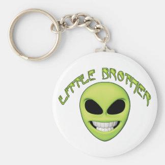 Alien Head Little Brother Key Chain
