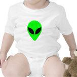 Alien Head Romper