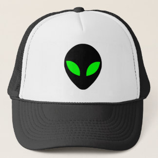 Alien Head Trucker Hat