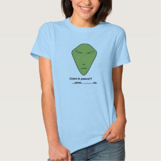 Alien Head Tshirt
