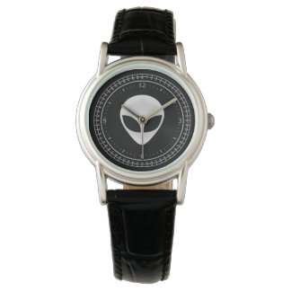 Alien Head Wristwatches