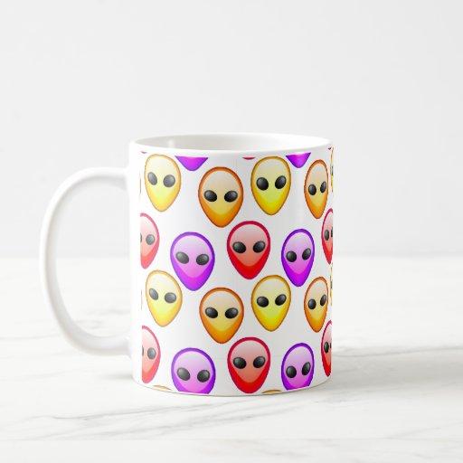 Alien Heads Mug