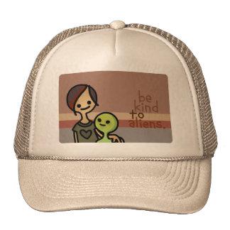 alien helmet. cap