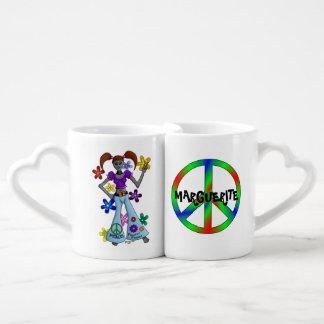 Alien Hippy Lovers Mug