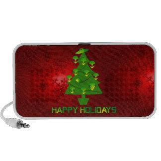 Alien Holiday Tree Notebook Speaker