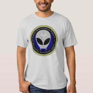Alien Human Breeding Program Participant Shirt