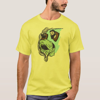 Alien Human Head Trophies T-Shirt