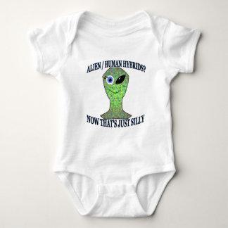 Alien Human Hybrid Infant Creeper